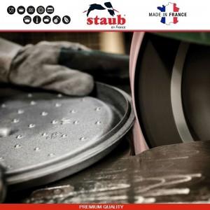 1112991 Сковорода-сотейник Mare чугунный для плиты и духовки, D 28 см, 4.6 литра, эмаль, Staub, Франция, арт. 112029, фото 11