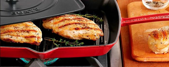 Лучшая сковорода-гриль для плиты