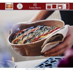Les plats Емкость для запекания и подачи, 41 x 26 см, керамика, цвет кремовый, Emile Henry, арт. 88165, фото 4