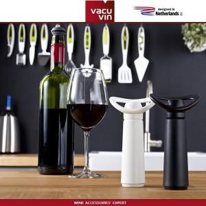 Аксессуары для вина: вакуумный насос Concerto черный, 4 вакуумные пробки, Vacu Vin, Нидерланды, арт. 90045, фото 5