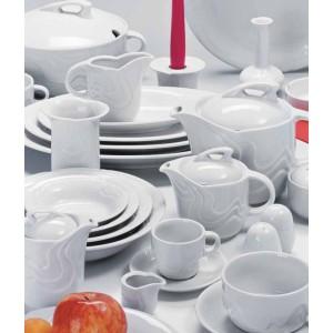Чайник  с крышкой  «Melodie», 750 мл, D 10,2 см, H 14,7 см, W 18 см, фарфор столовый, G.Benedikt, Чехия, арт. 7922, фото 4