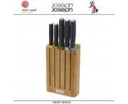 Набор кухонных ножей ELEVATE Bamboo на подставке, 6 предметов, Joseph Joseph, Великобритания