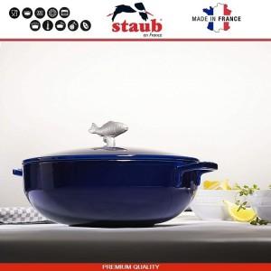 1112991 Сковорода-сотейник Mare чугунный для плиты и духовки, D 28 см, 4.6 литра, эмаль, Staub, Франция, арт. 112029, фото 5