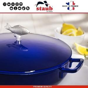 1112991 Сковорода-сотейник Mare чугунный для плиты и духовки, D 28 см, 4.6 литра, эмаль, Staub, Франция, арт. 112029, фото 6