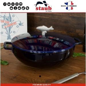 1112991 Сковорода-сотейник Mare чугунный для плиты и духовки, D 28 см, 4.6 литра, эмаль, Staub, Франция, арт. 112029, фото 2