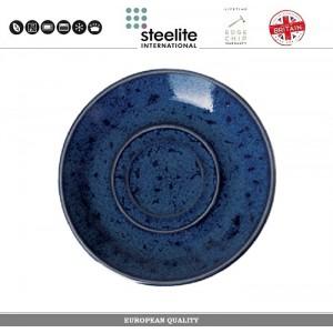 Блюдце Indigo Vesuvius для арт 112729, 14.5 см, фарфор, Steelite, Великобритания, арт. 112735, фото 1
