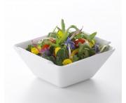 Салатник квадратный, 20х20х10 см, цвет белый, фарфор, серия Bombay, REVOL, Франция
