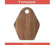Доска кухонная Modern Kitchen, 20 х 25 см, акация, TYPHOON