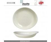 Блюдо-салатник Scape, D 28 см, фарфор, цвет молочно-белый глянец, Steelite, Великобритания