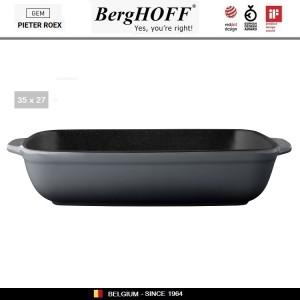 GEM Блюдо для запекания прямоугольное, 35 х 23 см, керамика жаропрочная, эмаль, BergHOFF 1697007, арт. 89760, фото 4