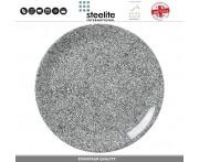 Блюдо-тарелка INK, 30 см, фарфор, черно-белый, Steelite, Великобритания