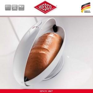 Хлебница SpaceMaster, цвет красный, сталь, эмаль, Wesco, Германия, арт. 112534, фото 2
