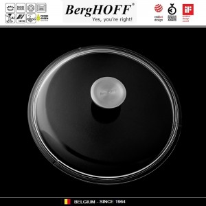 GEM Крышка, D 24 см, жаропрочное стекло, сталь нержавеющая, BergHOFF, арт. 89770, фото 2