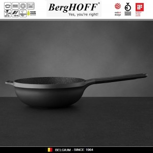 GEM Антипригарный вок, D 24 л, индукционное дно, BergHOFF 2307313, арт. 79436, фото 3