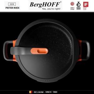 GEM Red Антипригарный сотейник для любых плит, 3.9 л, D 26 см, BergHOFF, арт. 92951, фото 12