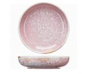Peony Глубокая тарелка, 600 мл, D 19 см, фарфор, розовый матовый, BK