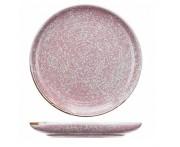 Peony обеденная тарелка, D 28 см, фарфор, розовый матовый, BK