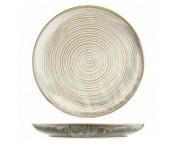 Agave Обеденная тарелка, D 28 см, фарфор, зеленый матовый, BK