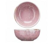 Peony Миска-салатник, 500 мл, D 14.5 см, фарфор, розовый матовый, BK