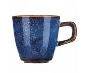 Iris Кружка для эспрессо, 150 мл, фарфор, синий глянец, BK