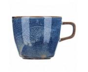 Iris Кружка для кофе (чая), 190 мл, фарфор, синий глянец, BK