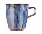 Iris Высокая кружка, 280 мл, фарфор, синий глянец, BK