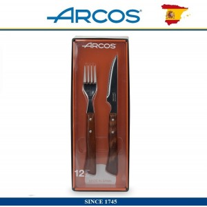 Arcos Steak Набор приборов для стейка, 12 предметов на 6 персон, ARCOS, Испания, арт. 112510, фото 5