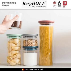LEO Банка-дозатор для спагетти, стекло, пластик, BergHOFF, арт. 89730, фото 4