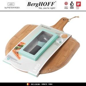 LEO Комплект для нарезки и подачи пиццы: доска и дисковый нож, BergHOFF, арт. 96790, фото 5