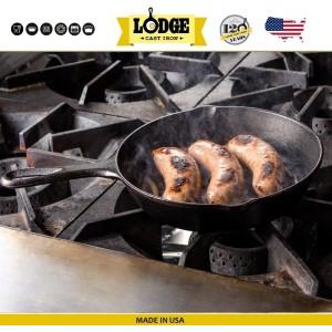 Сковорода чугунная средняя, D 23 см, H 5 см, Lodge, США, арт. 5213, фото 5