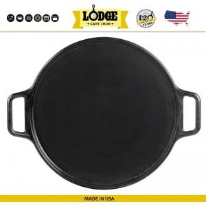 Противень для пиццы чугунный, D 35 см, Lodge, США, арт. 5238, фото 3