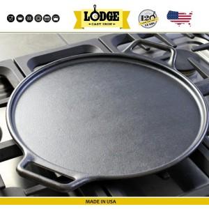 Противень для пиццы чугунный, D 35 см, Lodge, США, арт. 5238, фото 7