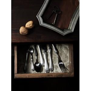 Ложка кофейная, L 11 см, олово, серия FRANCIA, Cosi Tabellini, Италия, арт. 24492, фото 2