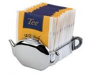 Подставка для пакетиков чая, L 8,5 см, сталь, APS, Германия