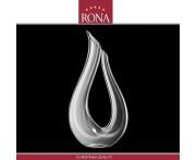 """Декантер ручной работы """"LYRA"""", 1.5 л, хрустальное стекло, RONA, Словакия"""