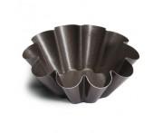 Форма для булочек бриошь, 3 шт, D 6 см, алюминий, антипригарное покрытие, Paderno, Италия
