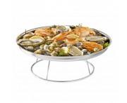 Подставка для блюда для морепродуктов, 50- 24 см, H 19 см, металл, Foods of Sea