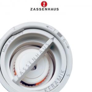 Мельница для перца с крышкой-солонкой, H 18 см, акрил, керамический механизм, Zassenhaus, Германия, арт. 111997, фото 2