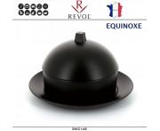 Димсам EQUINOXE керамический, D 22 см, черный, REVOL, Франция