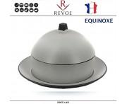 Димсам EQUINOXE керамический, D 22 см, серый, REVOL, Франция