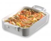 Блюдо «Belle Cuisine» для запекания и подачи, 450 мл, 16 см,  фарфор, REVOL, Франция