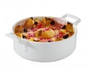 Блюдо «Belle Cuisine» для запекания и подачи, 550 мл, 15 см,  фарфор, REVOL, Франция