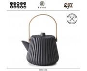 Дизайнерская серия PEKOE Заварочный чайник, 500 мл, керамика ручной работы, REVOL, Франция