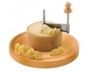 Нож для сыра, D 22 см, H 2 см,  сталь нержавеющая, дерево, Paderno, Италия