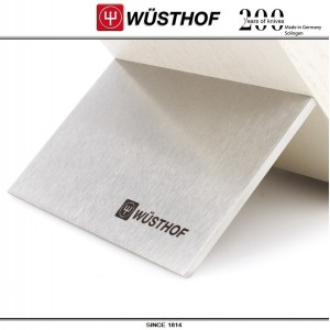 Подставка для 6 ножей, ясень тонированный белый, серия Knife blocks, WUESTHOF, Золинген, Германия, арт. 90032, фото 3