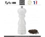 Мельница Paris U Select Laque Blanc для перца, H 18 см, белый, PEUGEOT, Франция