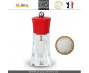 Мельница Molene для соли, H 14 см, красный, Peugeot, Франция