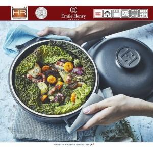DELIGHT Кастрюля керамическая для духовки и любых плит, индукционное дно, 2.5 л, D 22 см, Emile Henry, арт. 91053, фото 11