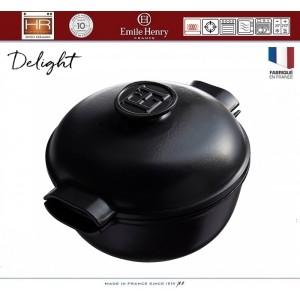 DELIGHT Кастрюля керамическая для духовки и любых плит, индукционное дно, 2.5 л, D 22 см, Emile Henry, арт. 91053, фото 5