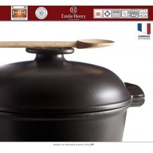 DELIGHT Кастрюля-жаровня керамическая для духовки и любых плит, индукционное дно, 4.5 л, L 36 см, Emile Henry, арт. 91056, фото 5